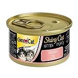 GimCat ShinyCat - Boîtes pour chatons en gelée - Avec des petits morceaux de poulet - Lot de 24 x 70 g
