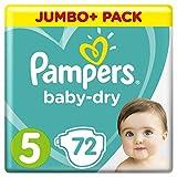 Pampers Baby Dry Gr.5 Junior 11-16kg Jumbo Plus Pack