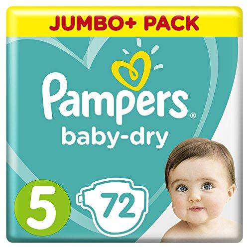 Preisvergleich Produktbild Pampers Baby Dry Gr.5 Junior 11-16kg Jumbo Plus Pack