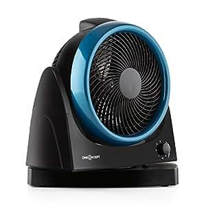 Oneconcept windmaker ventilateur de table silencieux avec fonction oscillation 25cm de - Ventilateur de table silencieux ...