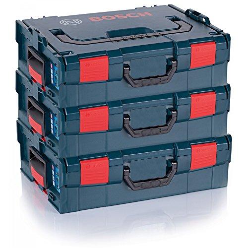 3er-PACK Bosch Maschinenkoffer L-Boxx Gr. 2 - Sortimo Gr. 136 - 2608438692 LBOX