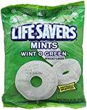 Hard Candy, Wint-O-Green Flavor, Individually Wrapped, 6.25oz Bag, Sold as 1 Package