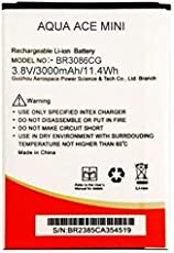 G n G 3000mAh Lithium Ion Battery BR3086CG for Intex Aqua Ace Mini (intACEmini)