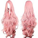 Agréable à porter et un effet plus que naturel. La longue de cheveux est environ 100cm. Nous vous offrons le filet à cheveux. Les clients peuvent ajuster le crochet à l'intérieur de la perruque pour obtenir la bonne taille. Et vous pouvez recouper po...
