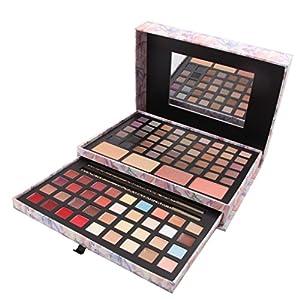 FantasyDay® 132 Colores Paleta de Maquillaje Cosmético Maquillaje Set Juego de Maquillaje Profesional Belleza de Regalos de Navidad con Sombra de Ojos,Delineador de Ojos,Corrector,Rubor y Lápiz Labial