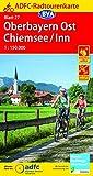 ADFC-Radtourenkarte 27 Oberbayern Ost / Chiemsee / Inn 1:150.000, reiß- und wetterfest, GPS-Tracks Download (ADFC-Radtourenkarte 1:150000, Band 27)