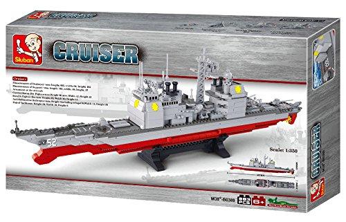 Sluban M38-B0389 - Baukasten - Kriegsschiffe - Kreuzer, groß