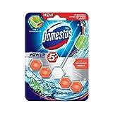 Domestos WC-Stein Power 5 Limette & Zedernholz, 55 ml, 5er Pack (5 x 55 ml)