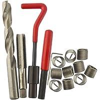 AB Tools M14 x 1,5 mm/Kit de reparación de roscas helicoil 9pc configurada roscas dañadas 15PC UNA025
