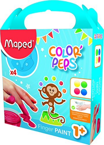 maped-812510-colorpeps-my-first-finger-paint-pot-pack-of-4