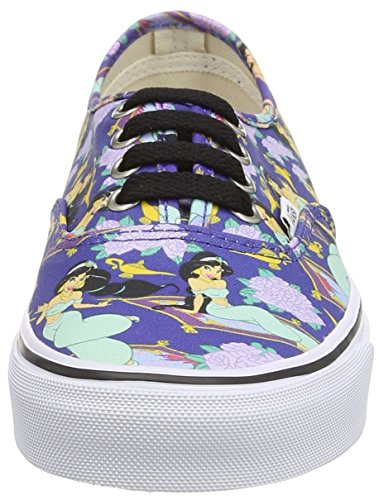 Vans U Authentic Disney, Baskets Basses Mixte Adulte Bleu (Disney - Jasmine/Deep Ultramarine)