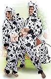 Boland 88002 Erwachsenenkostüm Kuh aus Plüsch, M/L -