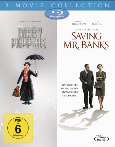 Bild von Mary Poppins/Saving Mr. Banks [Blu-ray]