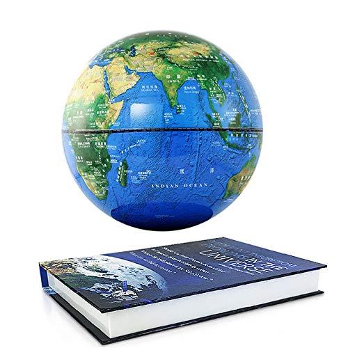 Educazione fisica globo di levitazione magnetica a rotazione da 6 pollici emissione luminosa di alta gamma di arti creative e artigianato articoli per l'arredamento di casa per ufficio il regalo ideal