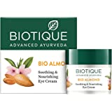 Biotique Almond Under Eye Cream For Dark Circles & Puffiness 16 g