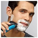 Braun Series 3 Shave und Style Elektrischer Rasierer und Trimmer 3010BT, blau/schwarz - 3