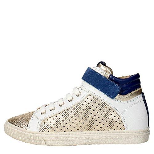 Florens F7495 Sneakers Bambina Pelle Oro Oro 37