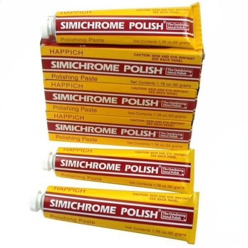 3 of 1.76 ounce Tube Simichrome Metal Polish by Competition Chemicals