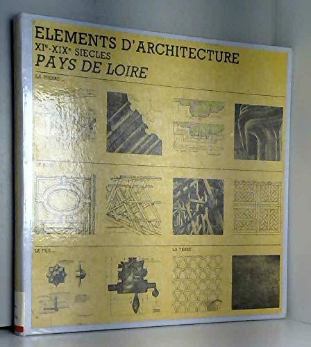 Eléments d'architecture : XIe-XIXe siècles par Centre de recherches sur les monuments historiques