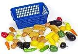 Polly Kaufladen Zubehör Kunststoff Gemüse Obst Backwaren 46 Teile