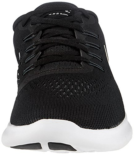Nike Free Rn, Chaussures de Running Compétition Homme Noir (Black/White/Anthracite)