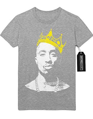 T-Shirt King Tupac C113239 Grau (Kostüm Justice Lady)