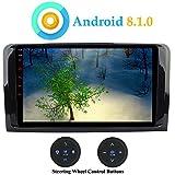 """XISEDO 9"""" Android 8.1.0 Autoradio Quad Core In-dash Car Radio Navigatore GPS per Mercedes-Benz ML-W164/ W300/ ML350/ ML450/GL-X164/ GL320/ GL350/ GL500 (con Pulsanti di Controllo del Volante)"""