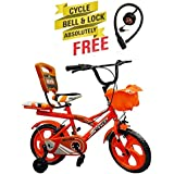 Speed Bird Robust 14-T Child Cycle - Baby Cycle For Boys & Girls - Age Group 3-6 Years