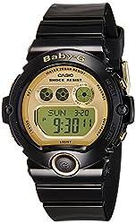 Casio Baby-g Digital Gold Dial Womens Watch-BG-6901-1DR