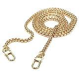 120cm Kette Metallersatz Gurt für Damen Handtasche Tasche (Gold)