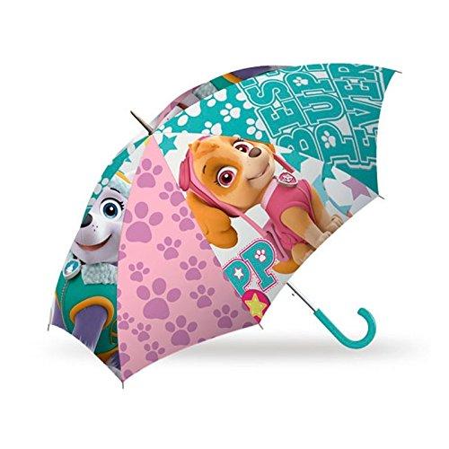Kids Licensing 864355 - Paraguas Clásico Paw Patrol Skye, 66 cm, Verde