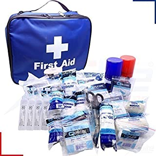 FA Football Touchline ELITE Physio Sports First Aid Kit Fully Kitted in Bag