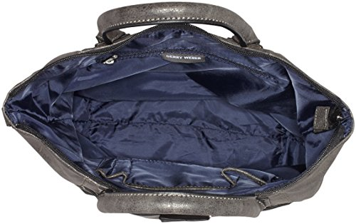 Gerry Weber Damen Be Different Henkeltaschen, 37x26x11 Cm Grau (grigio Scuro 802)
