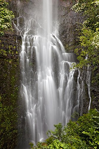 The Poster Corp Jenna Szerlag/Design Pics - Hawaii Maui Kipahulu Wailua Falls. Photo Print (60,96 x 91,44 cm)