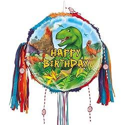 Dinosaurio cumpleaños Tire Cadena Piñata