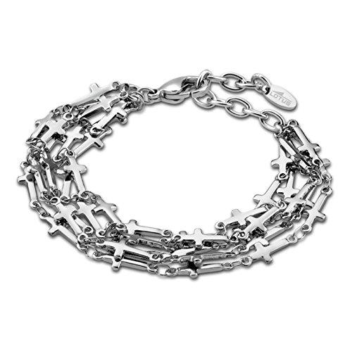 0d19eb0760 Lotus Style Bracelet pour femme en acier inoxydable Argent Trendy Collection  jls1766–2 de 1