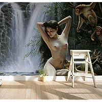 nackt im liegestuhl