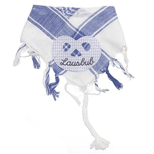 Baby Tuch Spuktuch mit Frottee und Klettverschluß 100% Baumwolle für Jungs mit Breze