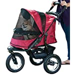 Pet Gear Jogger No-Zip Stroller, Rugged Red 19