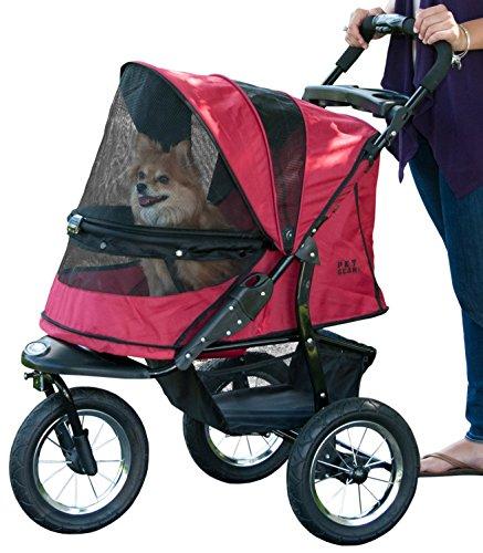 Pet Gear Hundebuggy, ohne Reißverschluss, Rot
