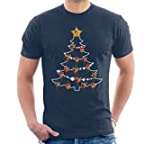 Alan Partridge Christmas Tree Baubles Men's T-Shirt