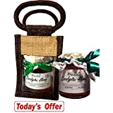 Farm Naturelle-Aesthetically Designed Jute Gift Bag With Pure Raw Natural Unheated Unprocessed Forest Eucalyptus...