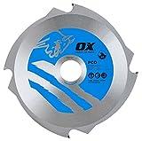 OX ox-pcd-190/304Zähne Faserzement Schneiden Klinge, 0V, silber/blau, 190/30mm