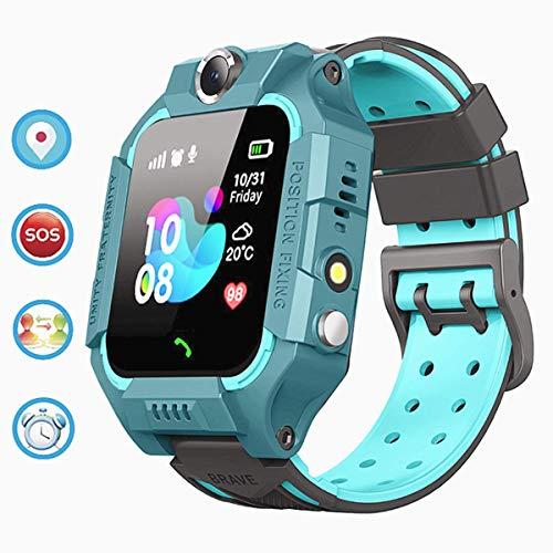 linyingdian Smartwatch Niños,Reloj Inteligente Niños con Flashlight, IP67 LBS SOS, Cámara, Smartwatch...