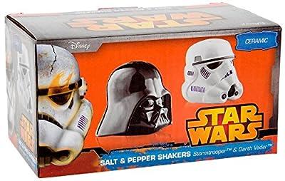 Star Wars Darth Vader & Stormtrooper - Salt & Pepper Pot à épices noir/blanc