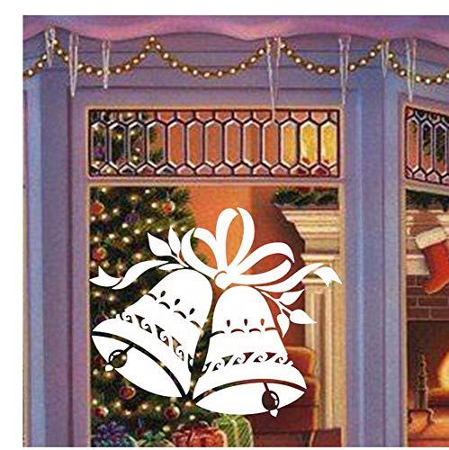 ät Vinyl Aufkleber Für Fenster Wand Frohe Weihnachten Jingle Bells Große Wandkunst Aufkleber Wohnzimmer Wohnkultur29X24 Cm ()