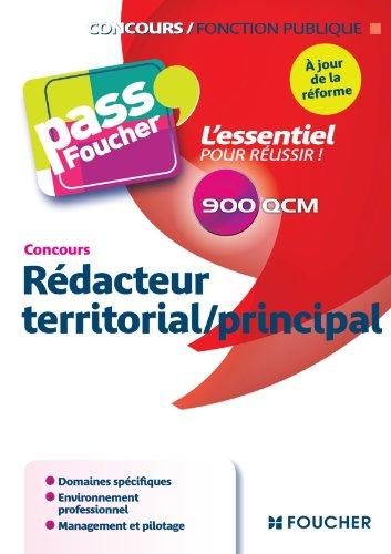 Concours Rédacteur territorial / principal à jour de la réforme