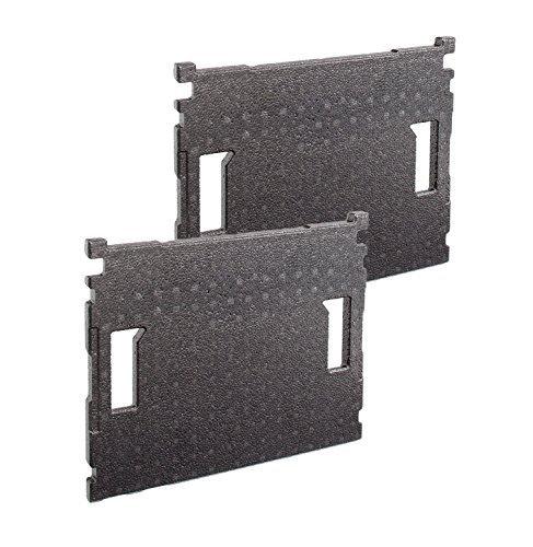 Preisvergleich Produktbild Bosch Sortimo Deckeleinlage für L BOXX | 2 Stück im Set | geeignet für L-Boxx 102 bis 378 | nur altes Modell