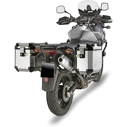 Portavalige Lateral Para Maletas Monokey Cam-Side Trekker Outback PL532CAM GIVI Para Suzuki DL 650 V-Strom