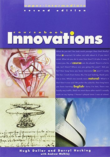 Innovations Upper-Intermediate - A Course in Natural English: Upper International Student Book (Innovations (Thomson Heinle)) by Hugh Dellar (2003-05-02)